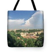 Iter Romam Via Ianiculum Tote Bag