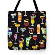 Its 5  Oclock Somewhere Cocktails Tote Bag