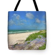 It's A Beach Kind Of Morning Tote Bag