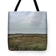 It's A Grey Day In North Norfolk Today Tote Bag
