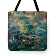 Charming Chasms Series It's A Jungle Tote Bag