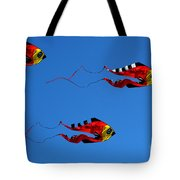 It's A Kite Kind Of Day Tote Bag by Clayton Bruster
