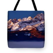 Its A New Day First Light Sawtooth Range Tote Bag