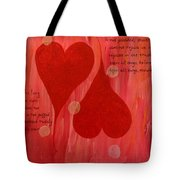 Its All About Love Tote Bag
