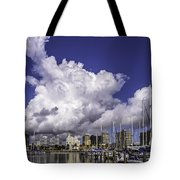 It's All About The Clouds Tote Bag