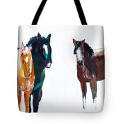 It's All About The Horses Tote Bag