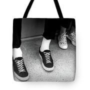 It's All Black And White Tote Bag