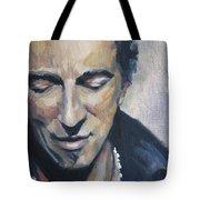 It's Boss Time II - Bruce Springsteen Portrait Tote Bag