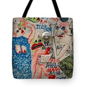 It's Just An Illusion Tote Bag