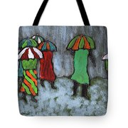It's Raining It's Pouring Tote Bag