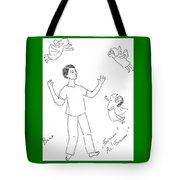 Ivan And A Goddesses. Tote Bag