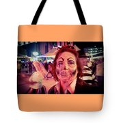 Zombie On Patrol Tote Bag