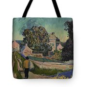 I've Decided To Retrace The Path That Vincent Took With His Easel That Day Tote Bag