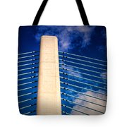 Ivory Tower At Indian River Inlet Tote Bag