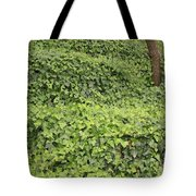 Ivy-covered Hill Tote Bag