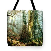 Ivy In The Woods Tote Bag