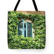 Ivy Shutters Tote Bag