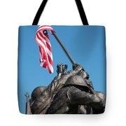Iwo Jima 1945 - War Memorial, Cape Coral, Florida Tote Bag