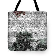 Iwo Jima War Mosaic Tote Bag