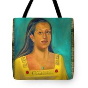 Izta Illustration Tote Bag by Lilibeth Andre