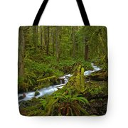 Lifeblood Of The Rainforest Tote Bag