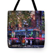 J And M Cafe Tote Bag