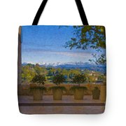 J Paul Getty Center Museum Terrace Tote Bag