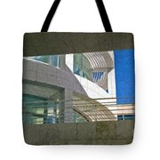 J. Paul Getty Museum Abstract View Tote Bag