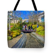 J Paul Getty Museum Garden Terrace Tote Bag