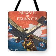 Join The Air Service Tote Bag