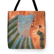 Jaaja Getu And Her Abigail - Tile Tote Bag