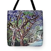 Jacaranda Road Tote Bag