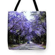 Jacarandas In Pretoria Tote Bag