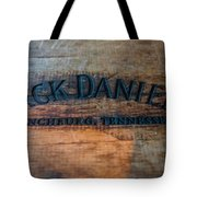 Jack Daniels Oak Barrel Tote Bag