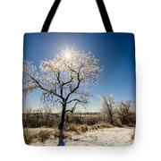 Jack Frost's Last Stand Tote Bag