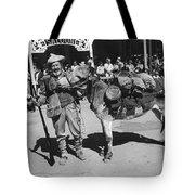 Jack Hendrickson With Pet Burro Number 3 Helldorado Days Parade Tombstone Arizona 1980 Tote Bag