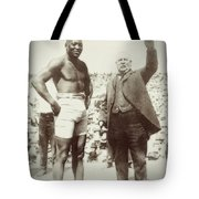 Jack Johnson - Heavyweight Boxing Champion  1908 - 1915 Tote Bag