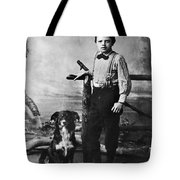 Jack London (1876-1916) Tote Bag by Granger