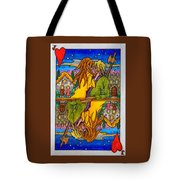 Jack Of Hearts Tote Bag