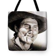 Jack Palance, Vintage Actor Tote Bag