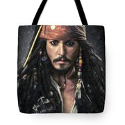 Jack Sparrow Tote Bag