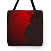 Jack The Ripper In Red Light Tote Bag