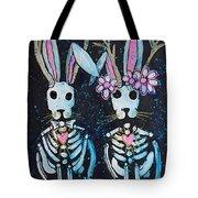 Jackalope Love Tote Bag