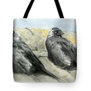 Jackdaws In The Sun Tote Bag