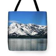 Jackson Lake Teton Panorama Tote Bag