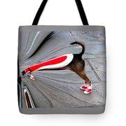 Jackson Square Chow Time Tote Bag by Kathy K McClellan