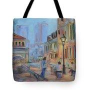 Jackson Square Musicians Tote Bag