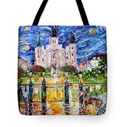Jackson Square New Orleans Tote Bag
