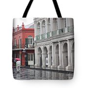 Jackson Square Rainy Day  Tote Bag