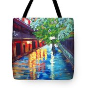 Jackson Square Reflections Tote Bag
